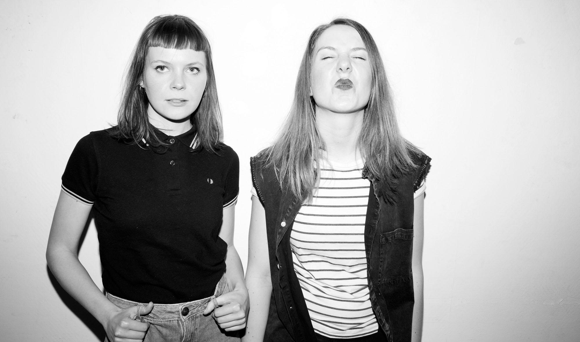 Frauen-Duo