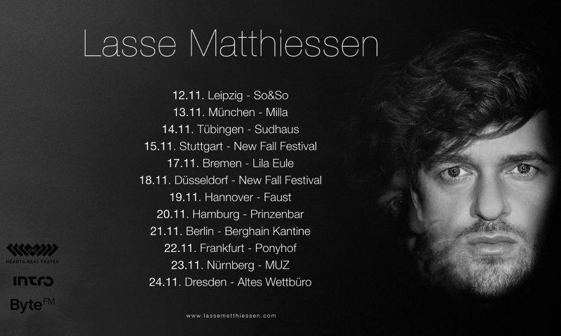 Lasse Matthiessen - Kommende Tour verspricht viel Gefühl