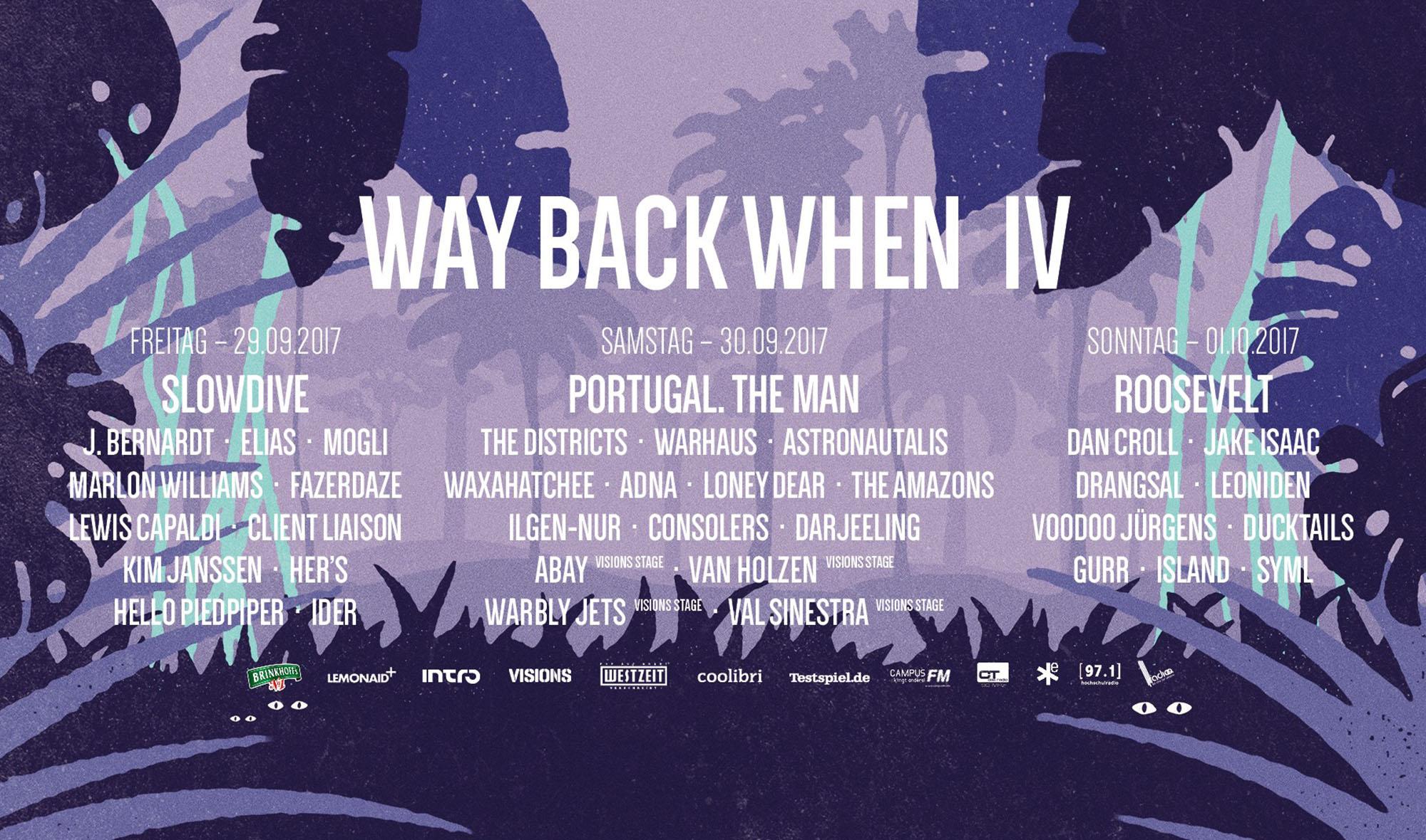 »Way Back When« - Programm und Endspurt
