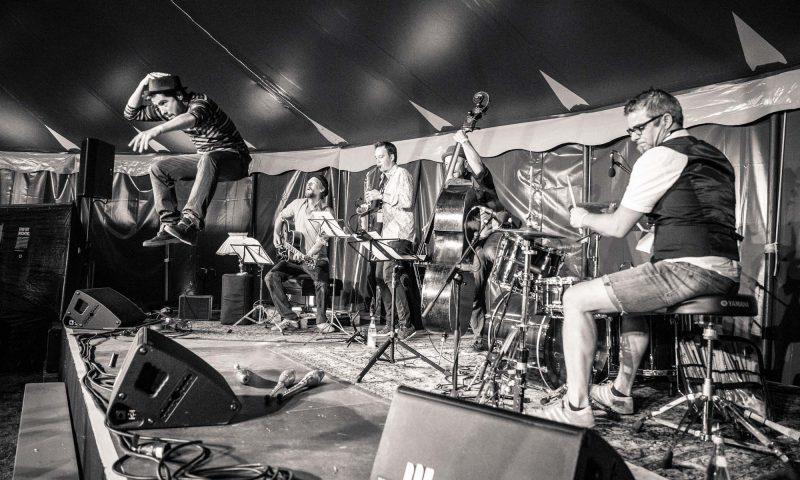 Zirkus Jazzino auf dem Brückenfestival Nürnberg, ©Photos: Lena Bean